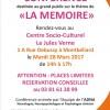 Conférence La Mémoire