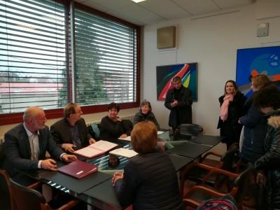 Signature «Label Génération» à Sochaux