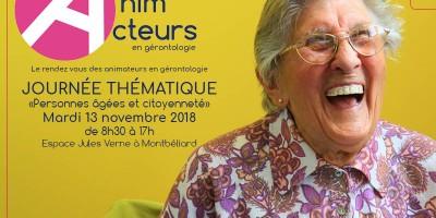 Anim'Acteurs en gérontologie : les inscriptions sont ouvertes !