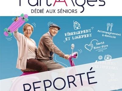 Salon Part'Âges 2021 reporté