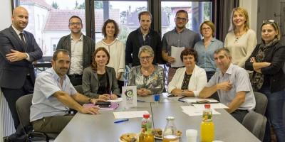 Signature de la convention ECLAT à Audincourt